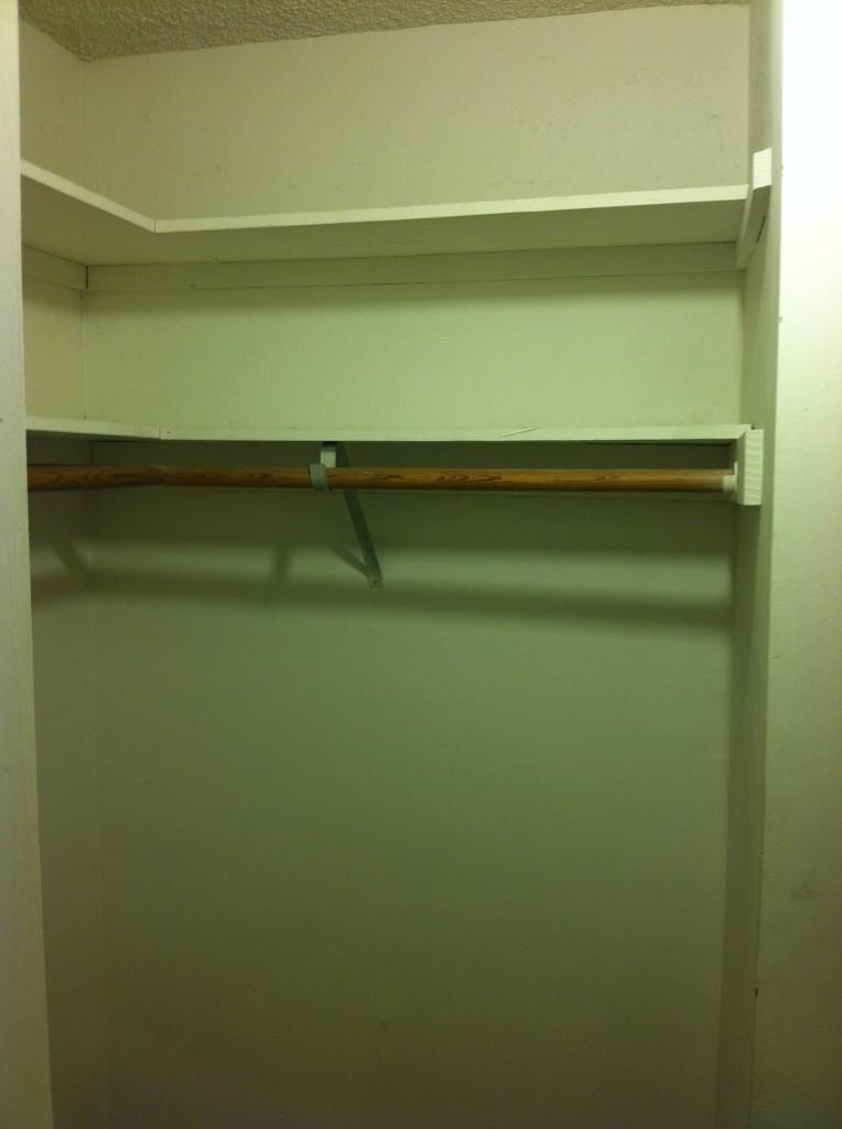 Empty Closet With Hangers | www.imgkid.com - The Image Kid ...